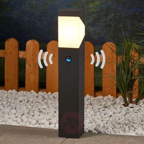 Kiran-LED-pollarivalaisin liiketunnistimella