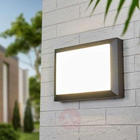 Kiran-LED-ulkoseinävalaisin iskunkestävä varjostin