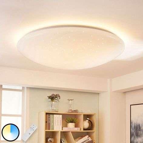 Kirkas Arissa LED-kattolamppu, värinvaihto