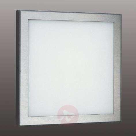 Kirkas Mette-LED-ulkoseinälamppu ruostumaton teräs