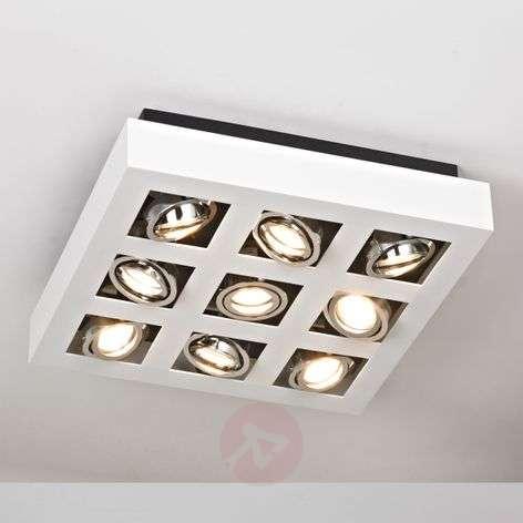 Kirkas Vince LED-kattovalaisin, 9-lamppuinen