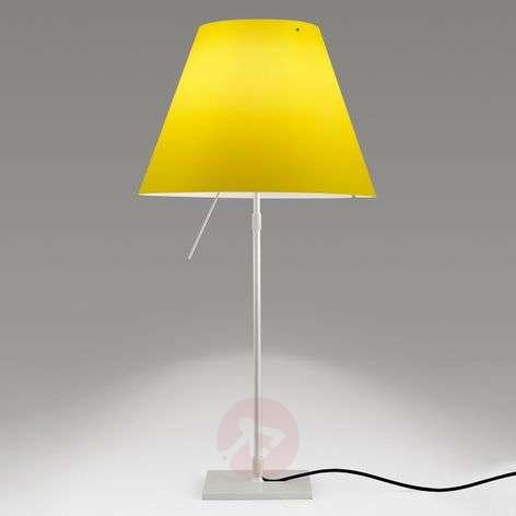 Kirkkaan keltainen LED-pöytävalaisin Costanza