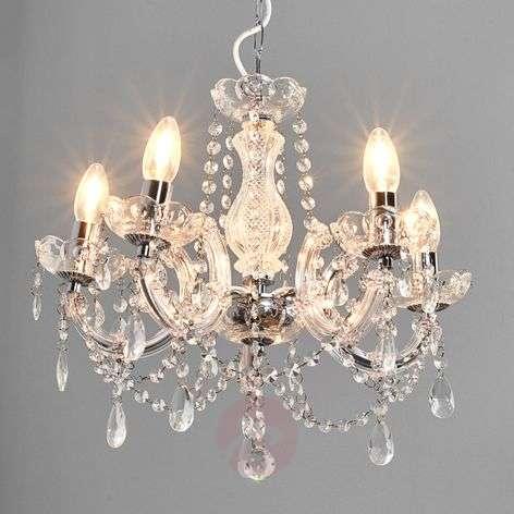 Klassinen MARIE THERESE -kattokruunu, 5. lamp.