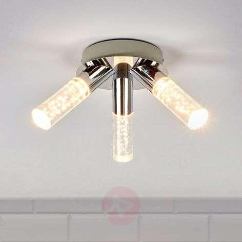 Kolmeosainen Duncan -kylpyhuoneen LED-kattolamppu