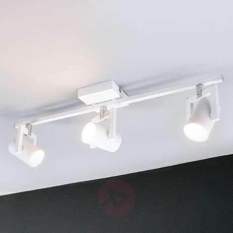 Kolmilamppuinen LED-kattokohdevalaisin Sulamita