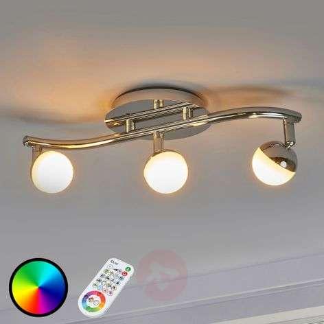 Kolmilamppuinen LED-kattovalaisin Olivine, KS