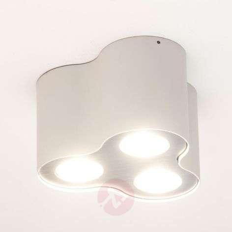 Kolmilamppuinen LED-kattovalaisin Pillar valkoinen-7531914-31