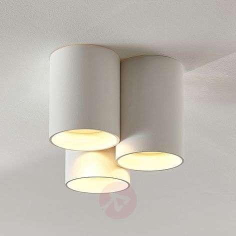 Kolmilamppuinen LED-kattovalaisin Smaranda