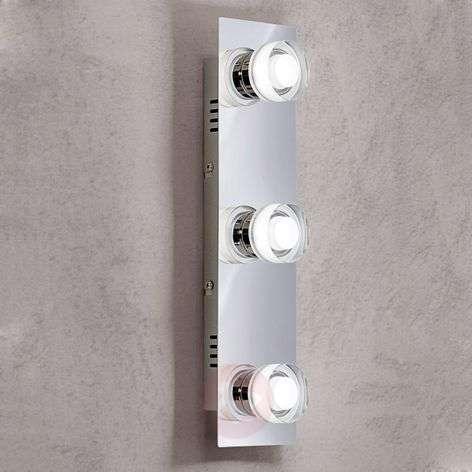 Kolmilamppuinen LED-seinävalaisin Gilian