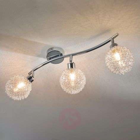 Kolmilamppuinen Ticino-LED-kattovalaisin-9620779-34