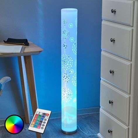 Koristava LED-lattialamppu Mirella, RGB-kauko-ohj.-9945217-32