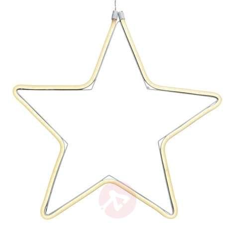 Koristeellinen tähti LED-valokaapeli ulkotiloihin