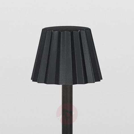 Korkea Butler P 306-LED-ulkopöytävalaisin mustana-2520157-31