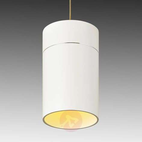Korkea LED-riippuvalaisin Tudor L, matta valkoinen