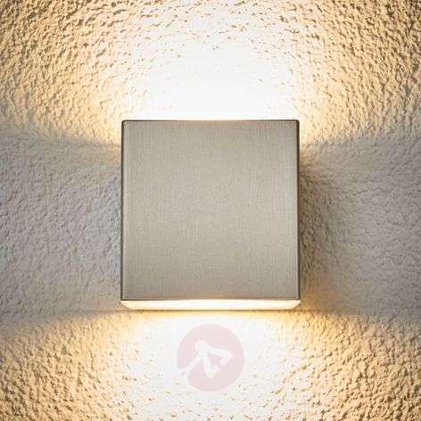 Korkealaatuinen LED-ulkovalaisin Jana, terästä