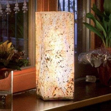 Korkealaatuinen luonnonliuske valopylväs