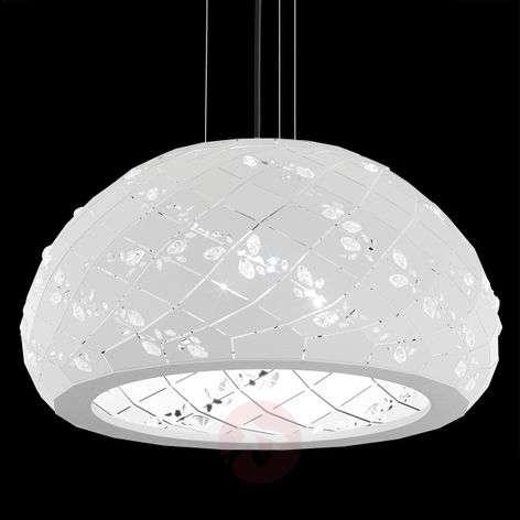 Kristallikoristeinen Apta-riippuvalaisin 53cm