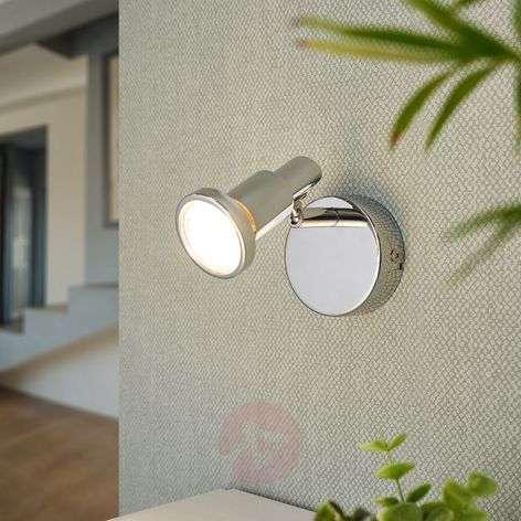 Kromattu LED-spotti Thom, GU10