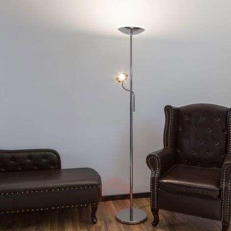 Kromi-lattiavalaisin Malea, LED ja lukuvalo