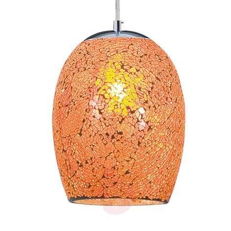 Kromi-oranssinen Crackle-riippuvalaisin