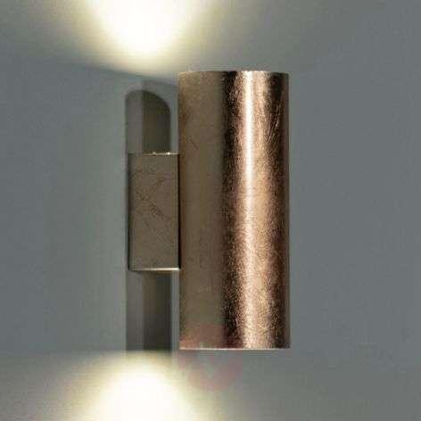 Kullanvärinen Meral-LED-seinälamppu, lieriö