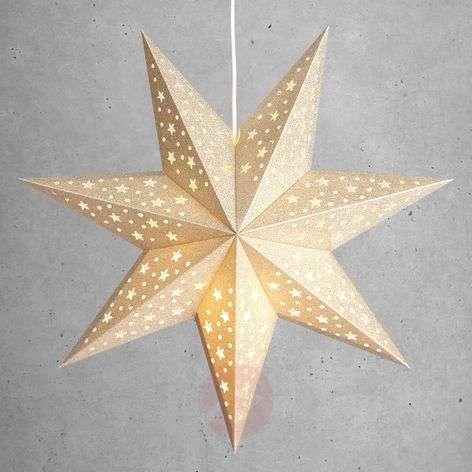 Kullanvärinen tähti Solvalla 45 cm
