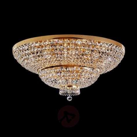 Kullattu kristallikattovalaisin Sherata, 18-lampp.