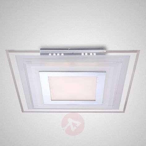 Kulmikas Amos LED-kattovalaisin - 30 cm
