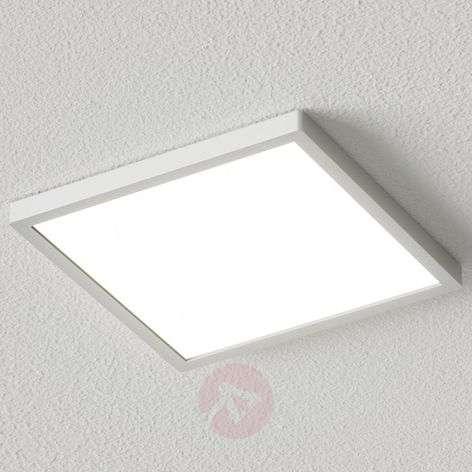 Kulmikas LED-kattovalaisin Solvie, hopea