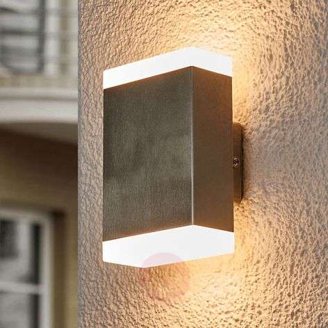 Kulmikas LED-seinävalaisin Aya ulkokäyttöön