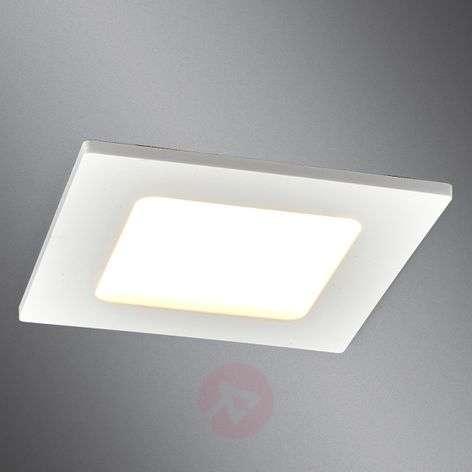 Kulmikas LED-valaisin Feva valkoinen, 5W-9978016-339