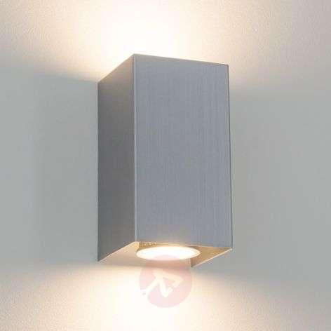 Kulmikas metalliseinävalaisin Kabir, GU10-LED