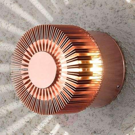 Kuparin värinen LED-ulkoseinävalaisin Monza