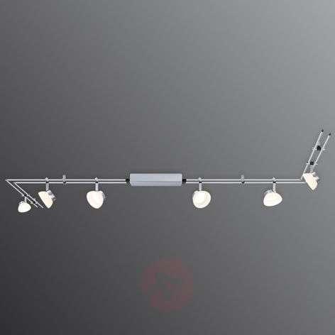 Kuuden lampun IceLED I -kiskojärjestelmä