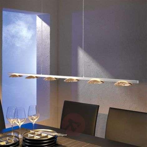 Kuusilamppuinen LED-riippuvalaisin Medusa
