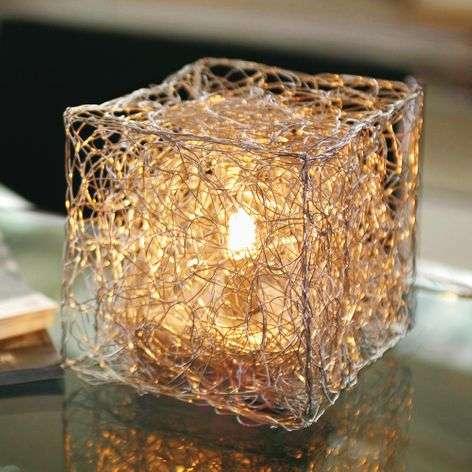 Kuutionmuotoinen Qubetto-pöytälamppu