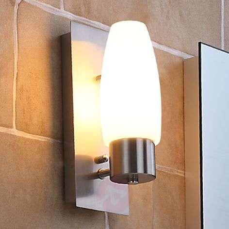 Kylpyhuoneen seinävalaisin Marian E14-LED-lampulla