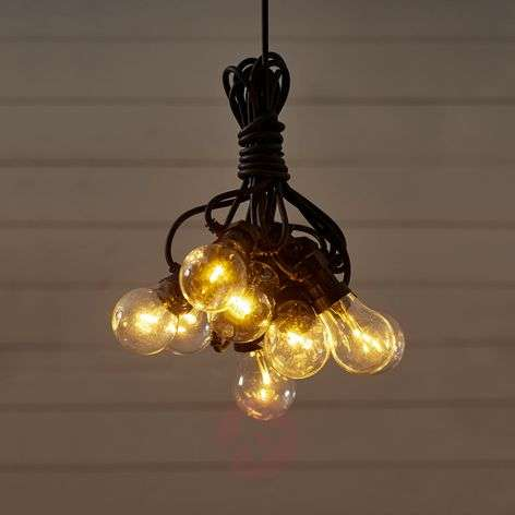 Kymmenlamppuinen LED-valoketju Circus, kirkas