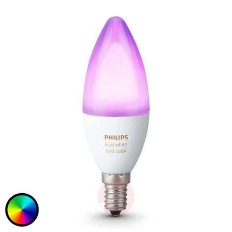 Kynttiläl. Philips HUE White Ambiance E14 6W RGBW