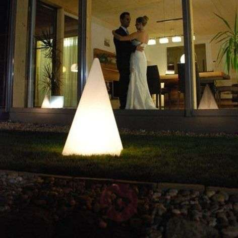Laadukas valopyramidi kumialustalla 36 cm-3050053X-31