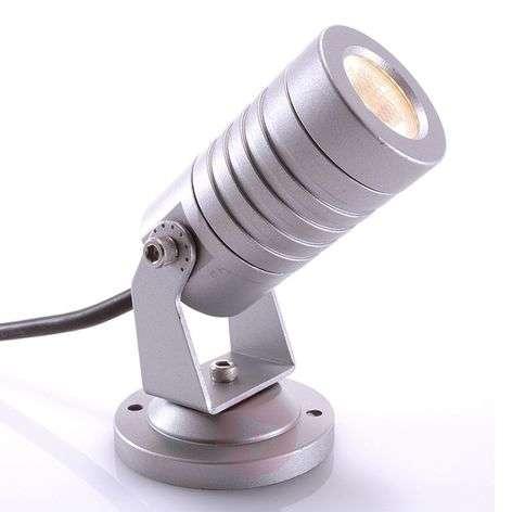 Lämpimänvalk. Mini-LED-ulkokohdevalaisin