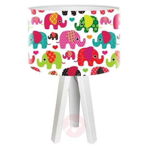 Lapsille sopiva pöytävalaisin Elefantti
