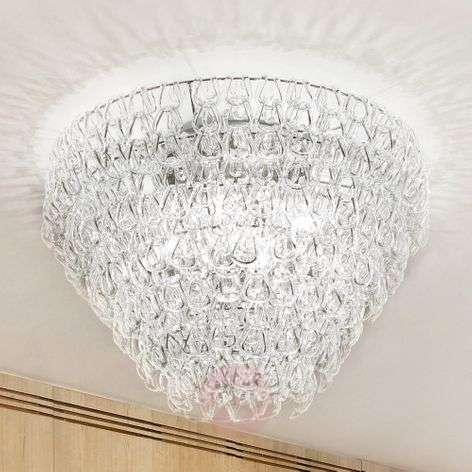 Lasi-kattovalaisin Giogali, 50 cm, läpikuultava