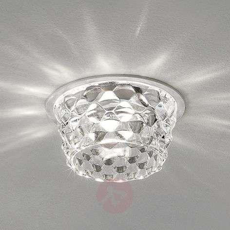 Lasinen Fedora-LED-upotettava kattovalaisin kirkas
