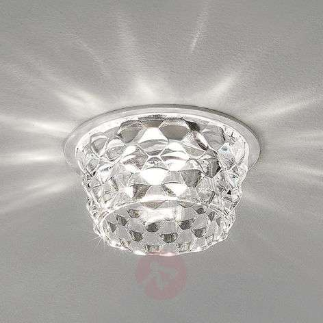 Lasinen Fedora-LED-upotettava kattovalaisin kirkas-1088114-31
