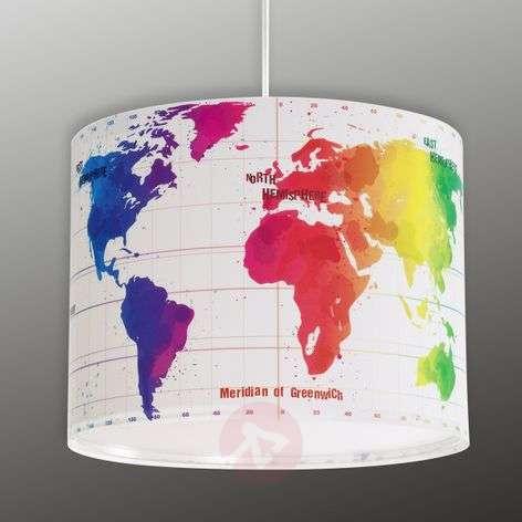 Lastenhuoneen riippuvalaisin Map maailmankartalla-2507315-31