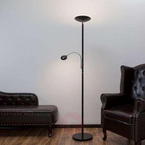 Lattiavalaisin Malea, LED + lukuvarsi, musta