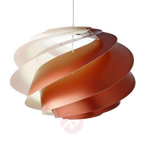 LE KLINT Swirl 1 - kuparinvärinen riippuvalo