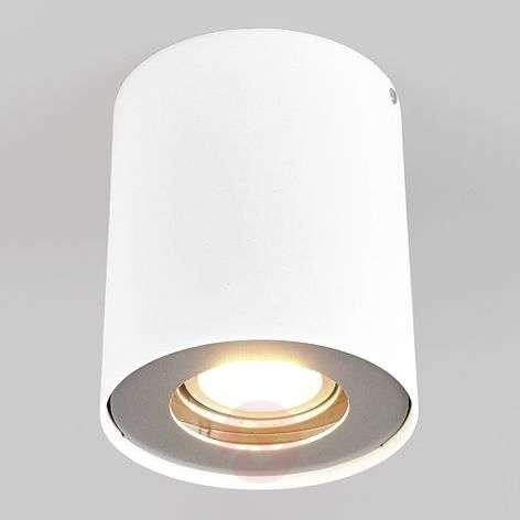 LED-alasvalo Giliano 1-lampp. pyöreä, valkoinen