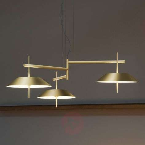 LED-designriippuvalaisin Mayfair 3-lamp.